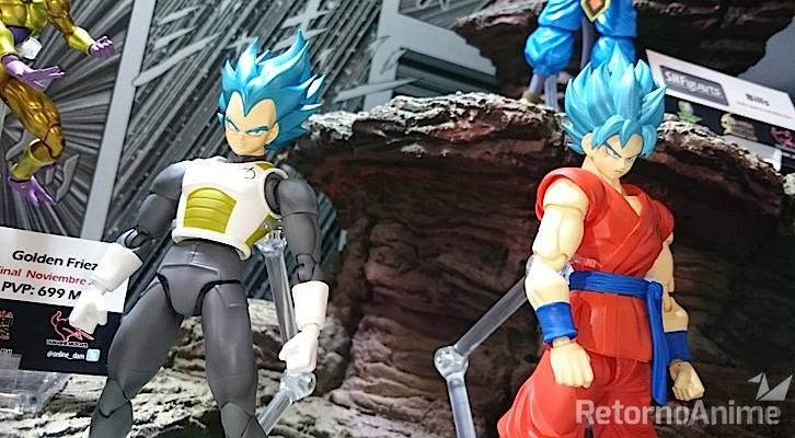 Tamashii Nations Mexico 2015 Goku Vegeta SSGSS