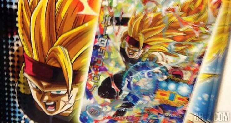 Bardock Xeno Super Saiyan 3 Card