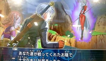 Dragon Ball Heroes GDM4 - Towa vs Trunks