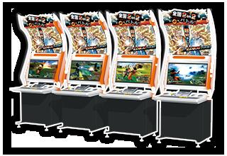 Borne d'Arcade de Dragon Ball Zenkai Battle