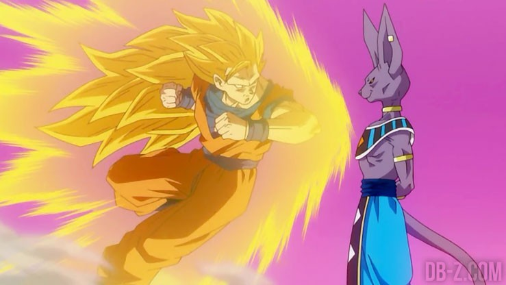 Goku Super Saiyan 3 vs Beerus