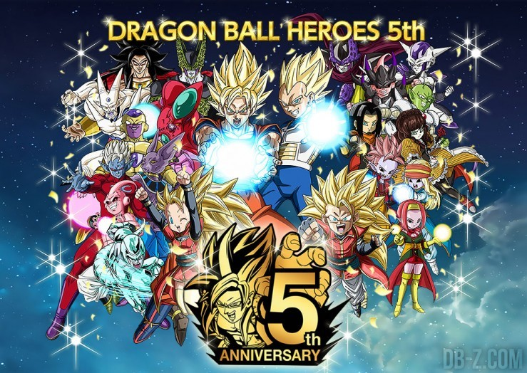 Dragon Ball Heroes 5 ans