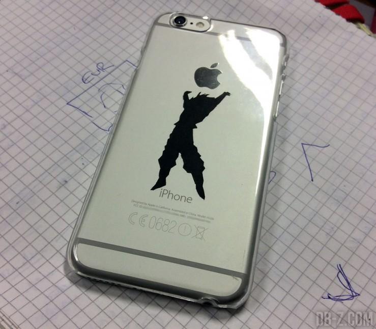 Sticker Dragon Ball dans mon iPhone