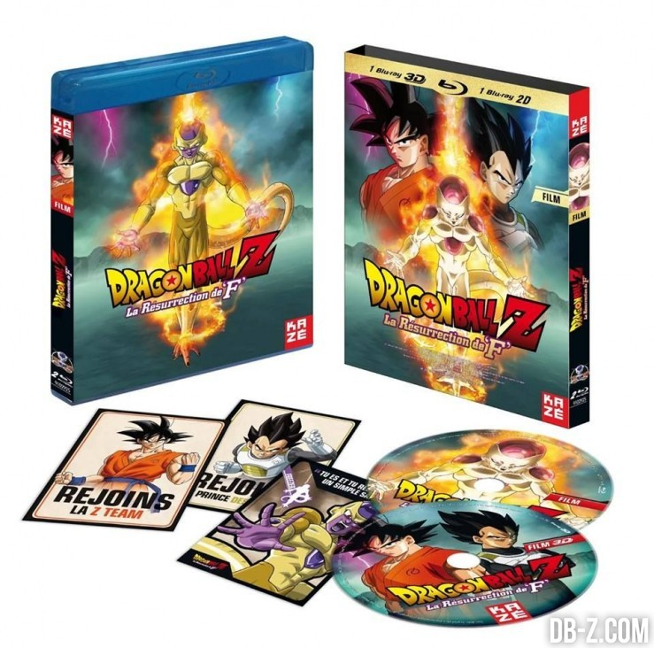 Dragon Ball Z La Resurrection de F DVD Bluray VF VOSTFR 2