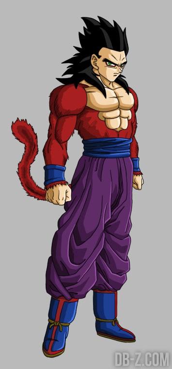 Gohan super saiyan 4 dans dragon ball heroes - Son gohan super saiyan 4 ...