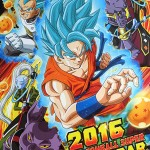 Calendrier Dragon Ball Super 2016