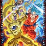 Calendrier Dragon Ball Super 2016 (Nov-Déc)