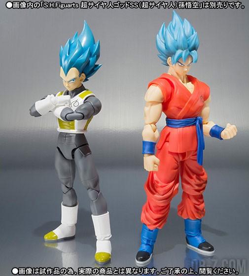 SHFiguarts Goku SSGSS / Vegeta SSGSS