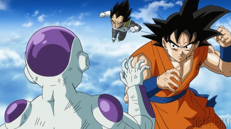 Dragon Ball Super : Vegeta Goku Freezer