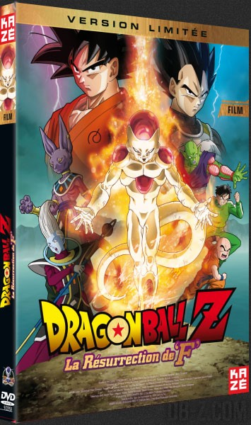 DBZ La Résurrection de F - DVD Bluray 3D