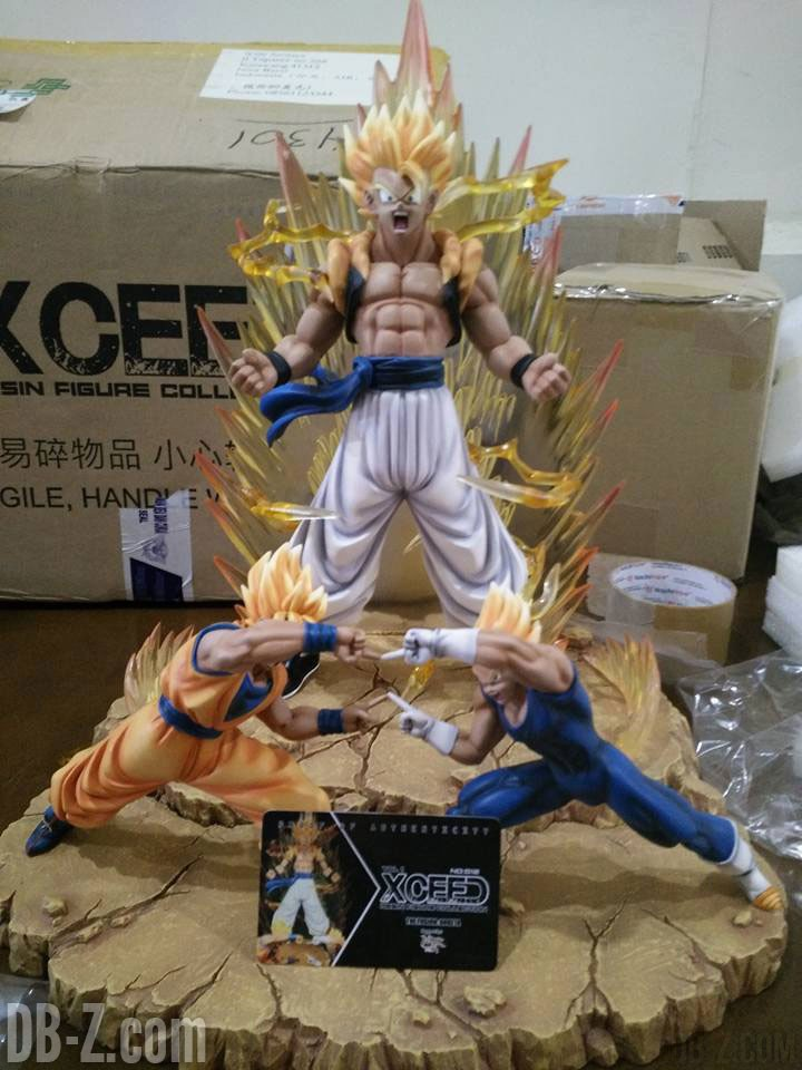 XRF The Fusion Gogeta (Resine Xceed)