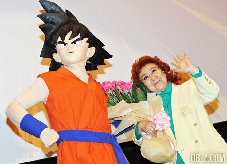 Masako Nozawa & Goku