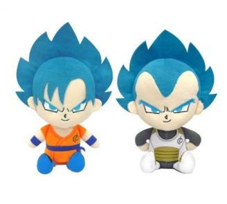 Peluche Goku SSGSS Vegeta SSGSS