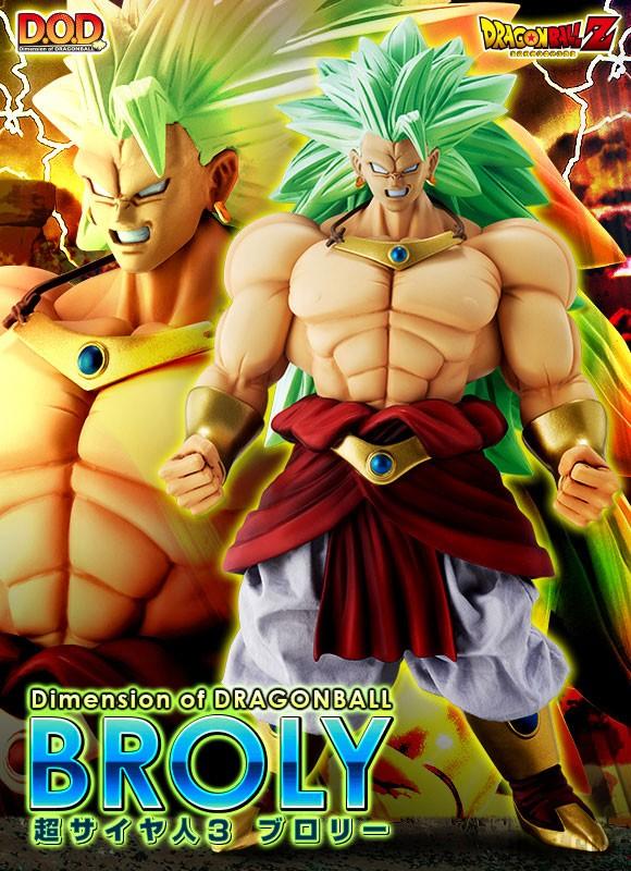 DOD Super Saiyan 3 Broly