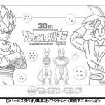 Plan de Goku et Vegeta en neige