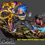 XRF SSGSS VEGETA vs GOLDEN FREEZER Resine