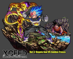 XRF SSGSS VEGETA vs GOLDEN FREEZER Resine