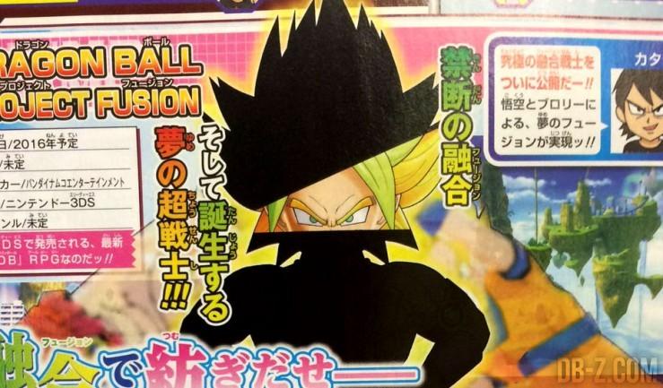 Dragon Ball Project Fusion Goku et Broly