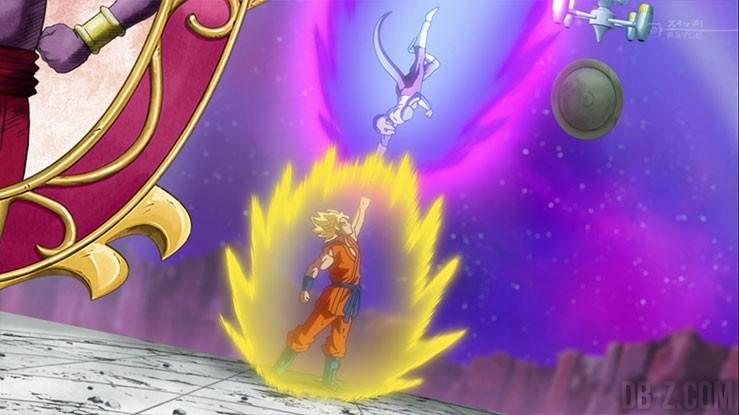 Super Saiyan Goku vs Frost
