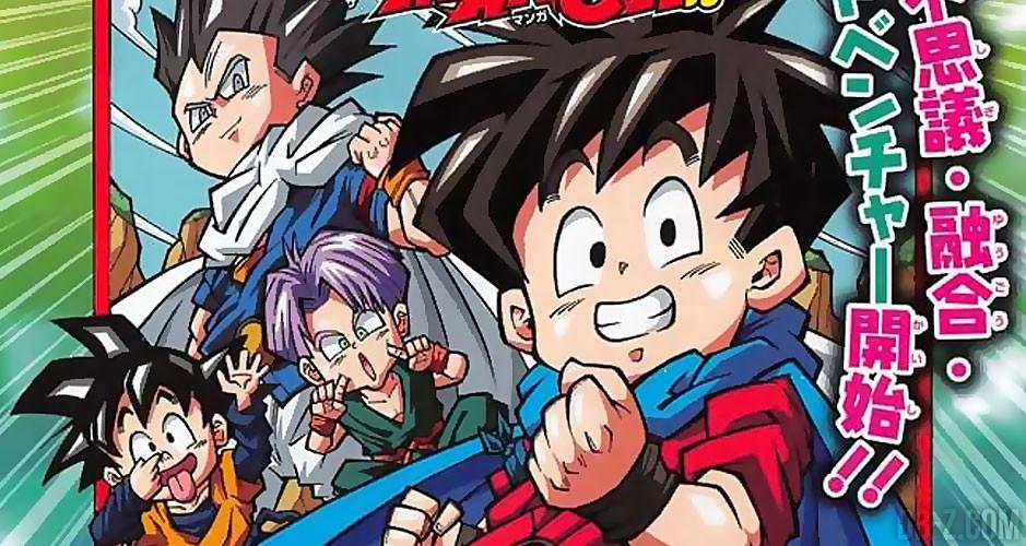 Manga Dragon Ball Fusions Cover Amp Titre Du 1er Chapitre