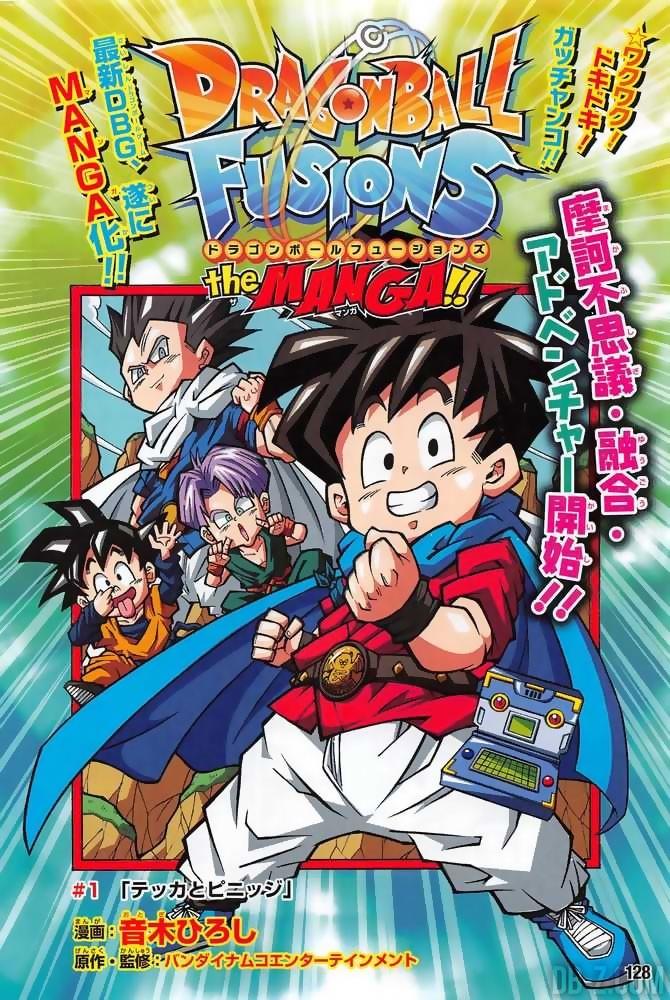 Dragon Ball Fusions Chapitre 1