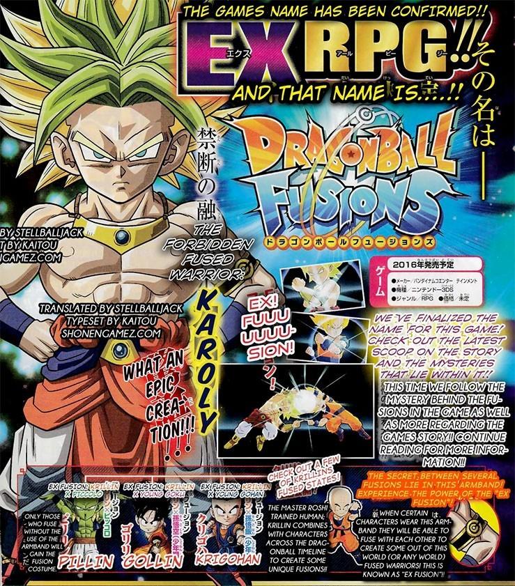 Dragon Ball Fusions : Karoly