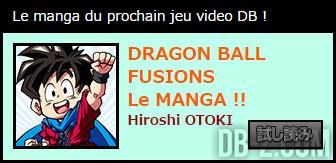 Dragon Ball Fusions Manga