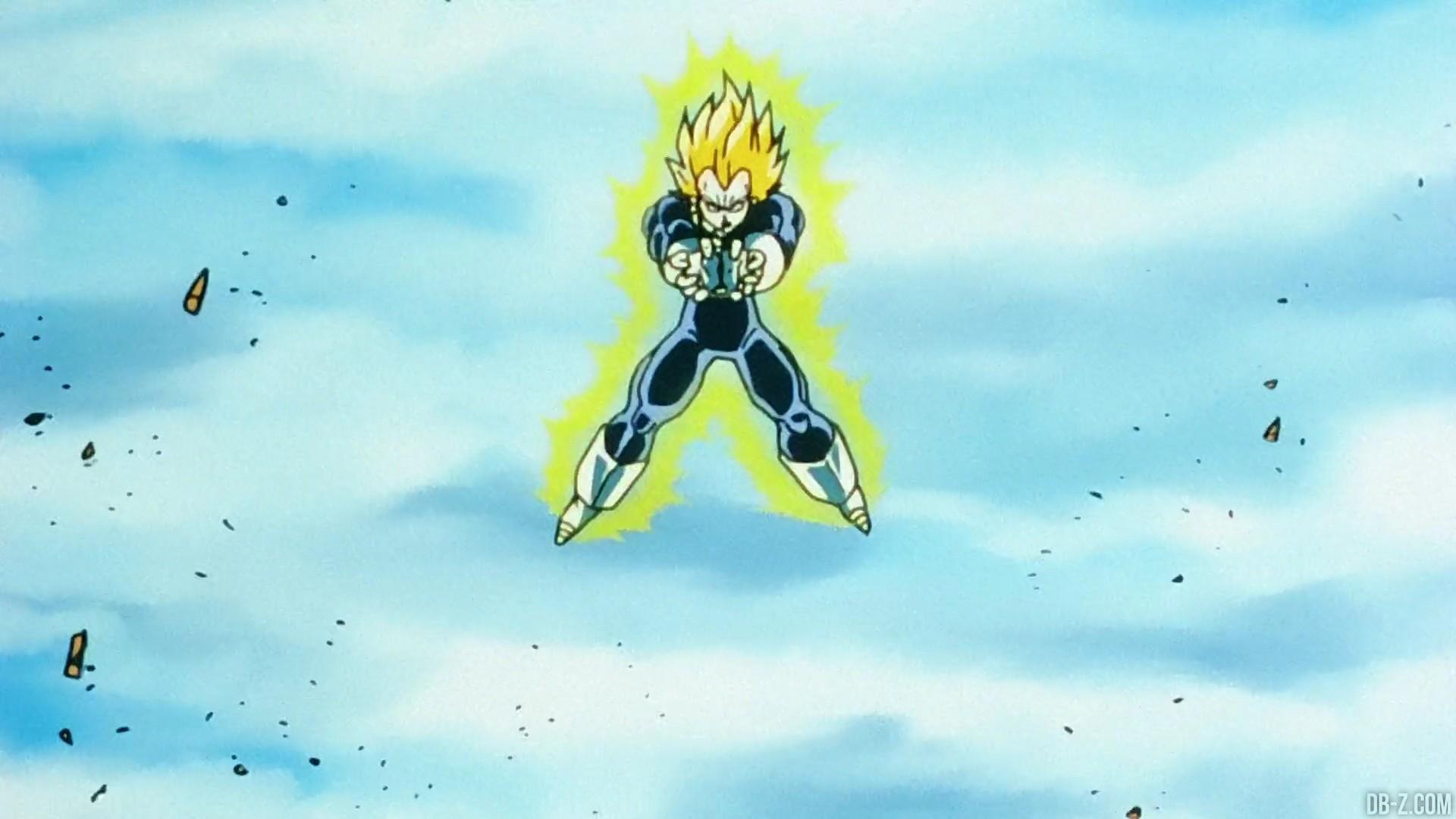 Final Flash Vegeta vs Cell 13