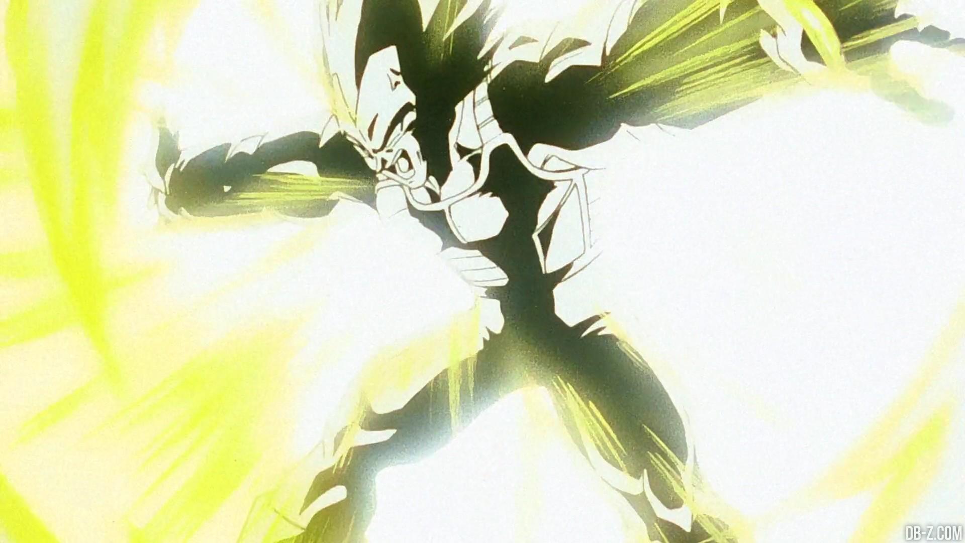 Dragon Ball Z Super Vegeta Final Flash