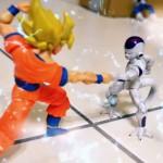 Stop Motion Lord Frieza Super Saiyan Goku vs Freezer