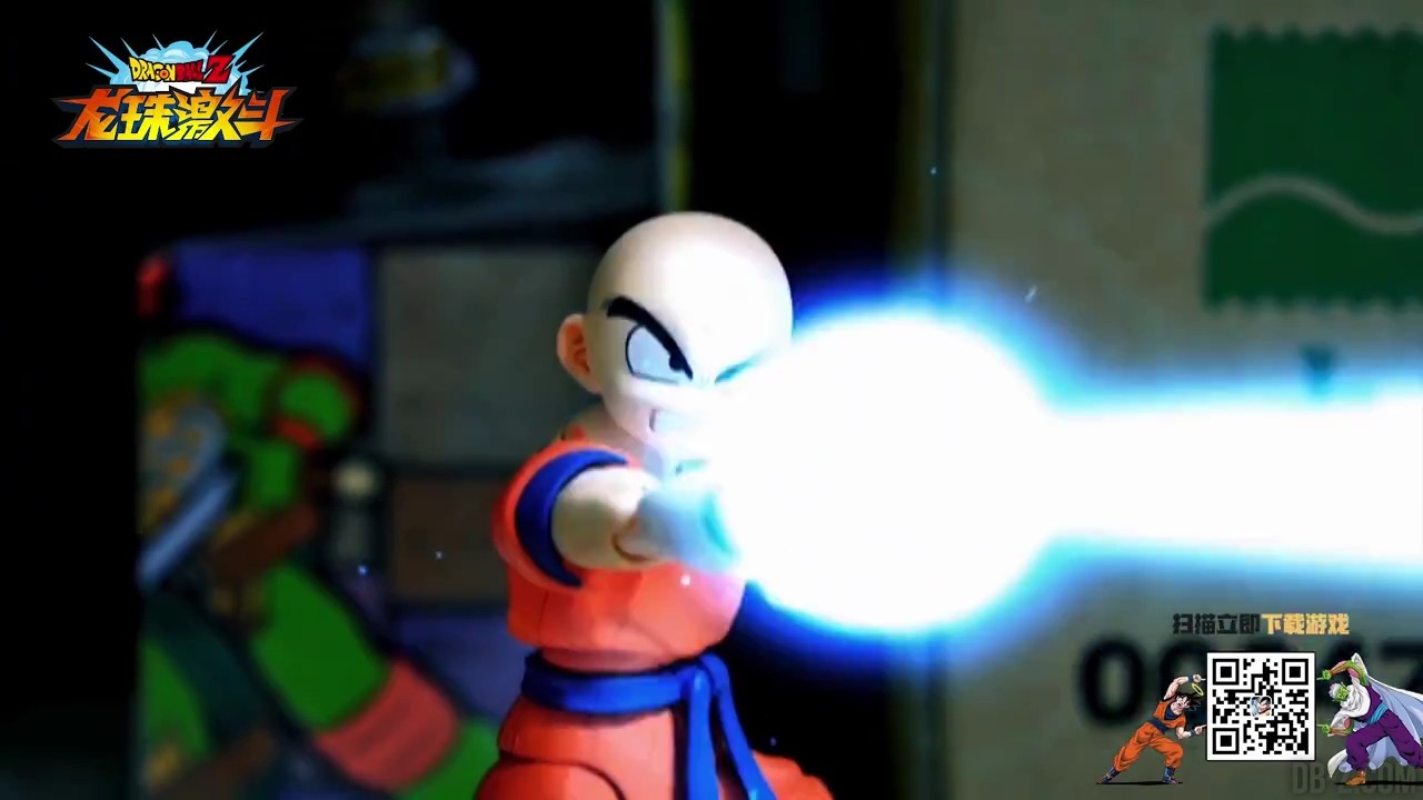 Stop Motion Lord Frieza Super Saiyan Goku vs Freezer 1