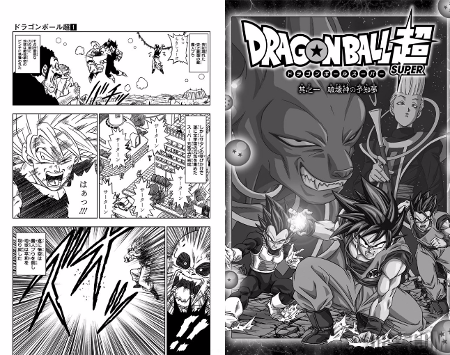 Dragon Ball Super Tome 1 Couverture 7