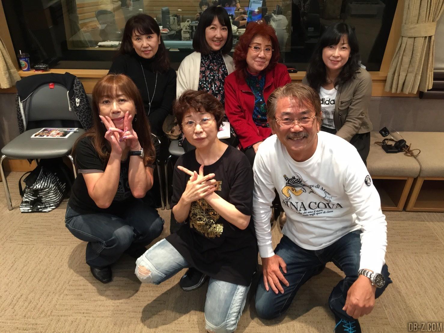 Mayumi Tanaka & Dragon Ball Staff