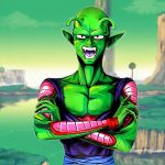 Body-Painting Piccolo Dragon Ball