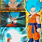 Dragon Ball Fusions SSGSS Goku