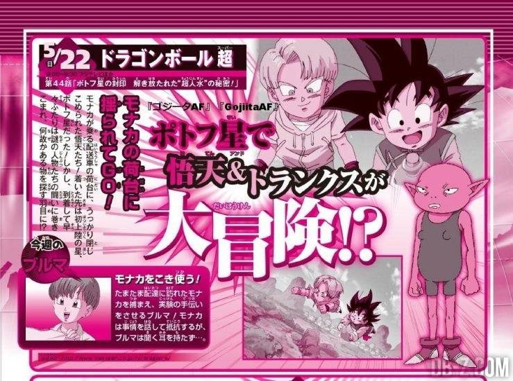 Dragon Ball Super Episode 44 - PREVIEW