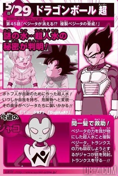 Dragon Ball Super Episode 45 Preview
