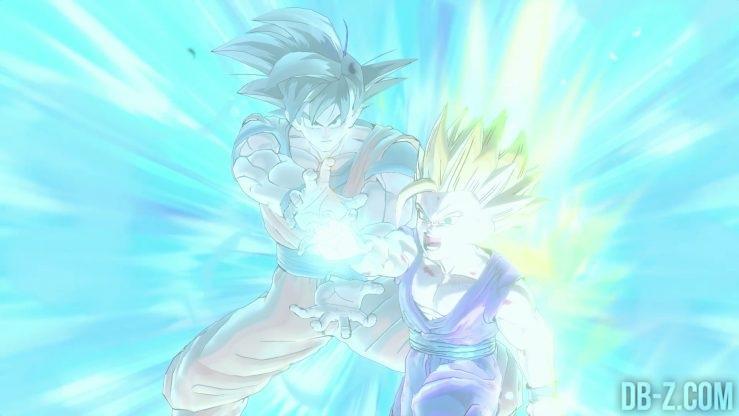 Dragon Ball Xenoverse 2 - Kamehameha Père / Fils
