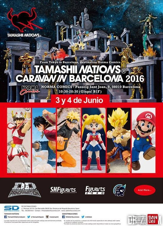 Tamashii Nations Caravan in Barcelona 2016