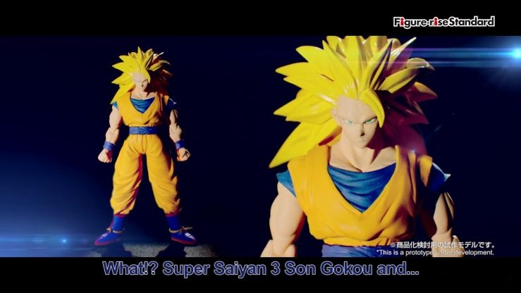 Figure-rise Standard Dragon Ball Super Saiyan 3 Goku