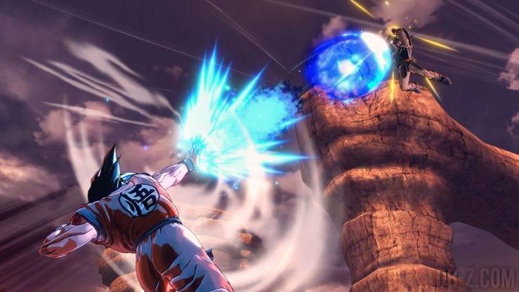 Goku vs Turles dans Dragon Ball Xenoverse 2