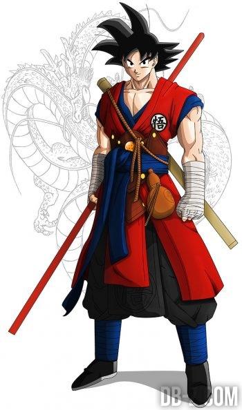 Goku Monk (fanart)