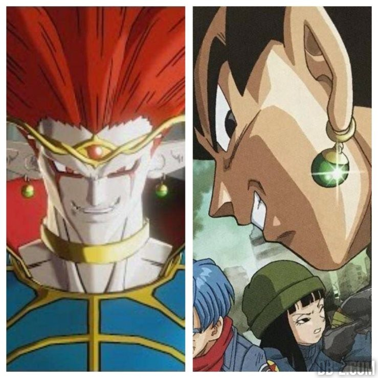 Potara Black Goku et Demigra