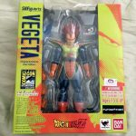 SHFiguarts Vegeta exclusive SDCC 2014 Box