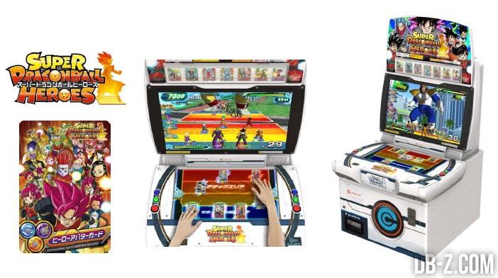 Super Dragon Ball Heroes - Borne d'arcade
