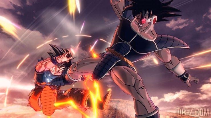 Turles vs Goku Dragon Ball Xenoverse 2