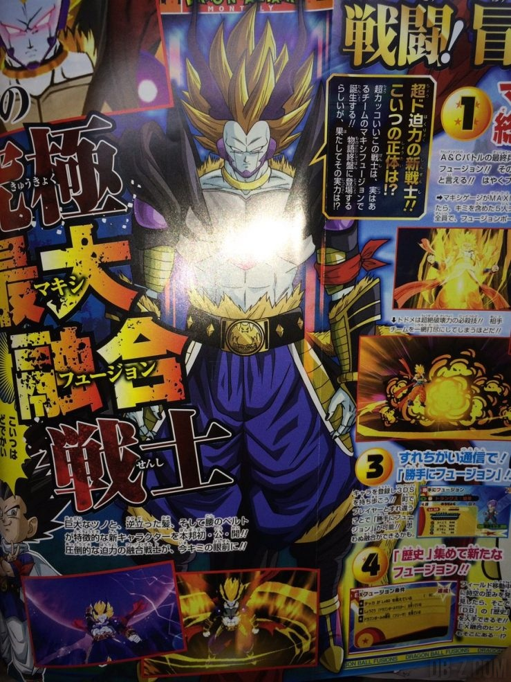 Dragon Ball Fusions - Maxi Fusion Boss