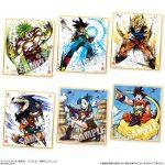 Shikishi Art 2 - Broly, Bardock, Goku SS, Yamcha, Bulma, Goku & Gohan