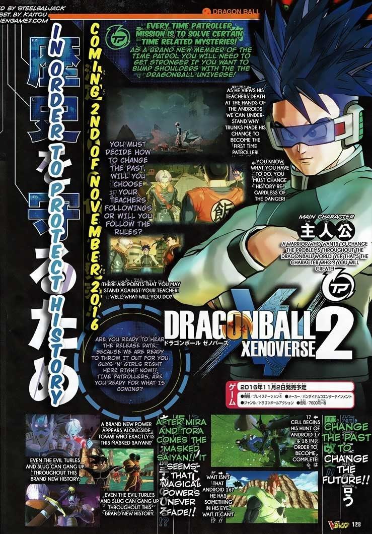 Dragon Ball Xenoverse 2 Scan 2 (V-Jump 07/2016)