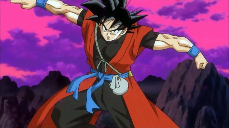 Goku Xeno dans Dragon Ball Heroes GDM9